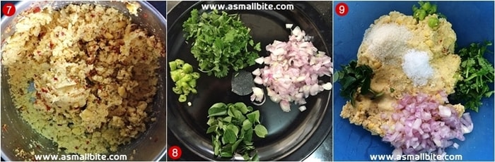 Paruppu Vadai Recipe Steps3
