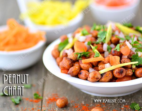 Peanut Chaat Recipe 1