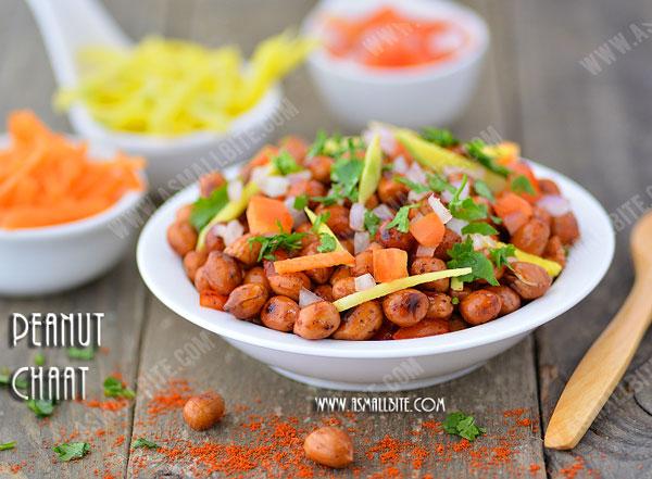 Peanut Chaat Recipe