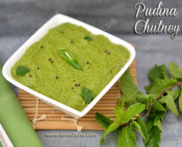 Pudina Chutney Recipe