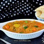 Sambar Rice Recipe | Sambar Sadam Recipe