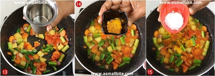 Sambar Rice Recipe Steps5