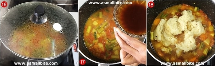 Sambar Rice Recipe Steps6