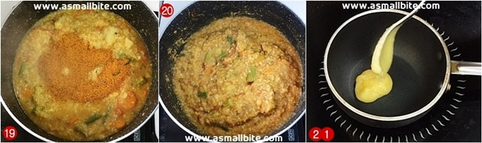 Sambar Rice Recipe Steps7