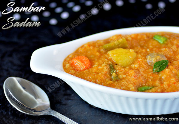 Sambar Sadam Recipe 1