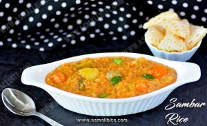 Sambar Sadam Recipe