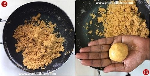 Besan Laddu recipe steps8