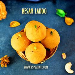 Besan Ladoo Ganesh Chaturthi Recipes