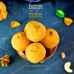 Besan Ladoo Recipe | Besan Laddu Recipe