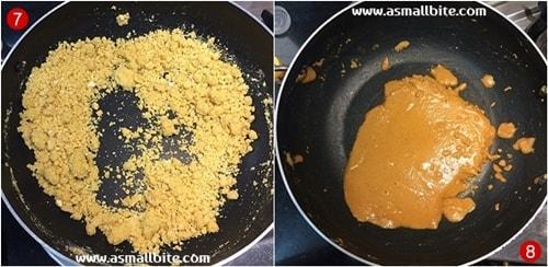 Besan Ladoo Recipe Steps4