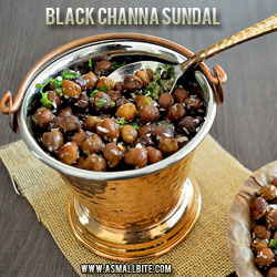 Black Channa Sundal Ganesh Chaturthi Recipes