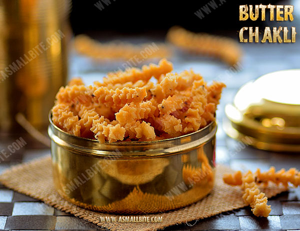 Butter Chakli Recipe 1
