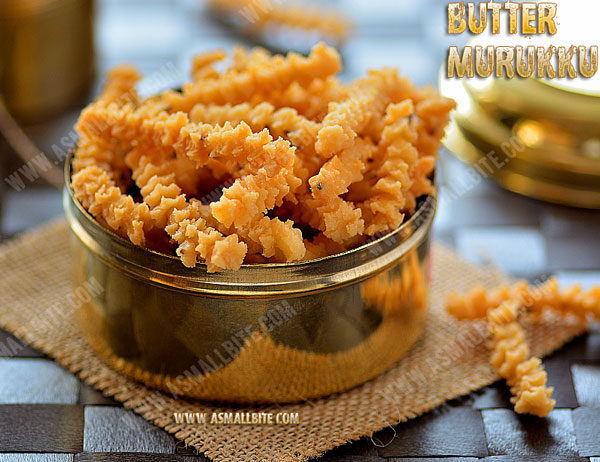 Butter Murukku Recipe 1
