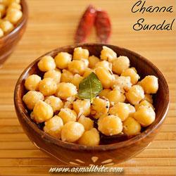 Channa Sundal Ganesh Chaturthi