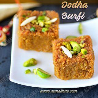 Dodha Burfi Recipe 1