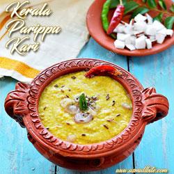 Kerala Parippu Curry Onam Recipes