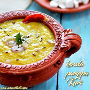 Kerala Parippu Curry Recipe 1