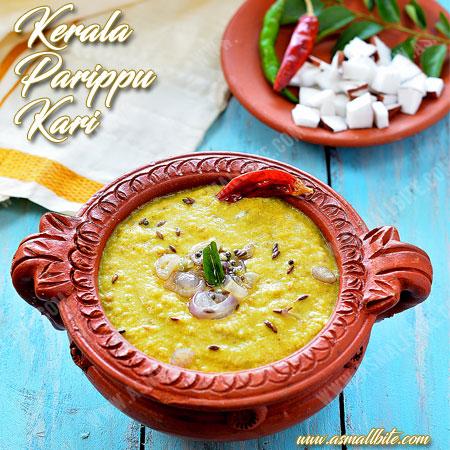 Kerala Parippu Curry Recipe   Onam Sadhya Recipes