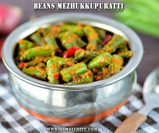 Kerala Style Beans Stir Fry 1