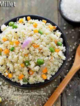 Kodo Millet Upma Recipe 1