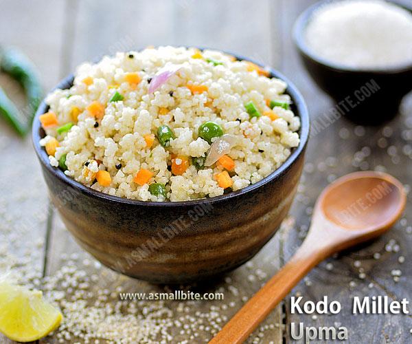 Kodo Millet Upma Recipe