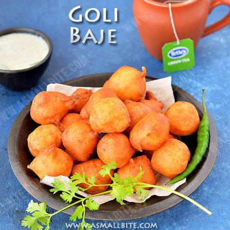 Goli Baje Recipe | Mangalore Bonda Recipe