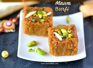 Mawa Burfi Recipe 1