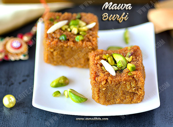 Mawa Burfi Recipe 1