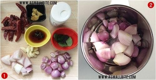Raw Onion Chutney Recipe Steps1