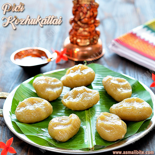 Sweet Kozhukattai Recipe 1