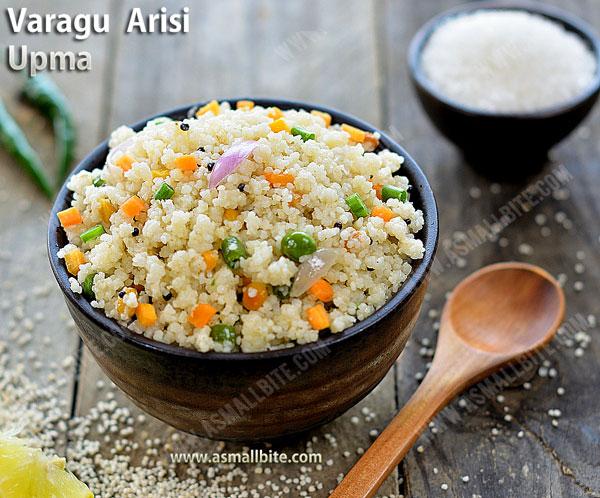 Varagu Arisi Upma Recipe 1