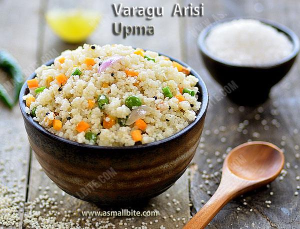 Varagu Arisi Upma Recipe