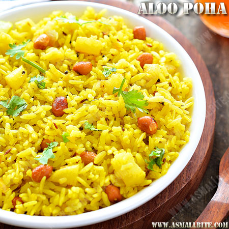 Aloo Poha Recipe 1