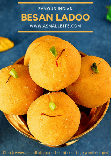 Besan Laddu Diwali Special Sweets