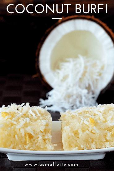 Coconut Burfi Diwali Sweets