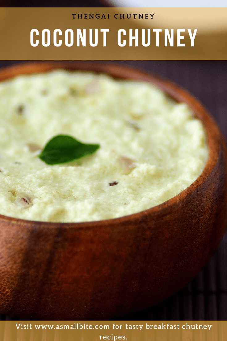 Coconut Chutney for Diwali