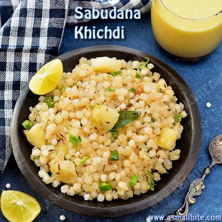 How to make Sabudana Khichdi 1