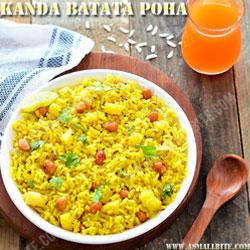 Kanda Poha Navratri Recipes