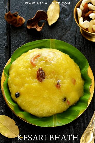Kesari Bath Diwali Special Recipe
