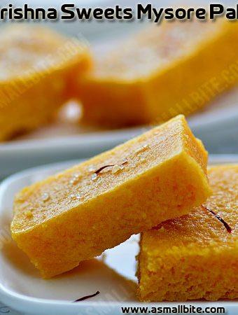 Soft Mysore Pak Recipe | Krishna sweets Mysore Pak
