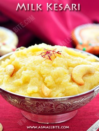 Milk Kesari Recipe | Paal Kesari Recipe