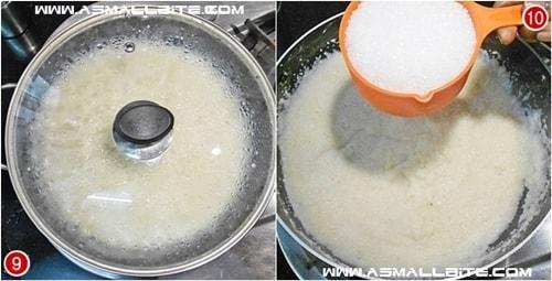 Milk Kesari Recipe Steps5