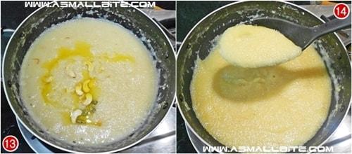 Milk Kesari Recipe Steps7