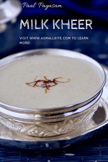 Milk Kheer
