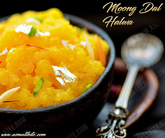 Moong Dal Halwa Recipe 1
