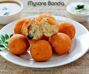 Mysore Bonda Recipe 1