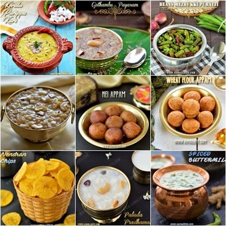 Onam Sadhya Recipes 2017