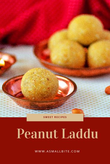 Peanut Laddu Diwali Special Sweets
