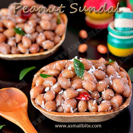 Peanut Sundal Recipe | Verkadalai Sundal Recipe