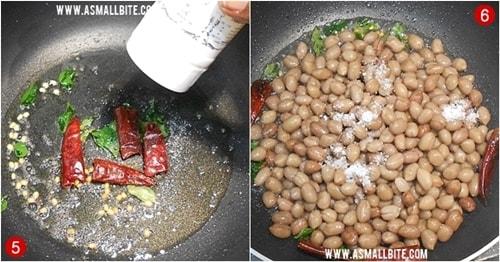 Peanut Sundal Recipe Steps3